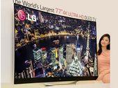 CES 2014 : LG en force avec ses nouveaux téléviseurs OLED