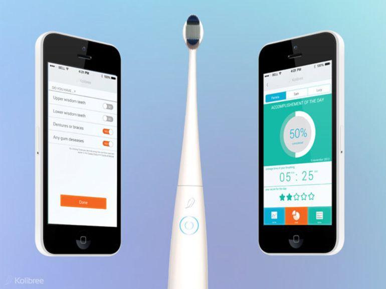 CES 2014 : Kolibree, la première brosse à dents connectée