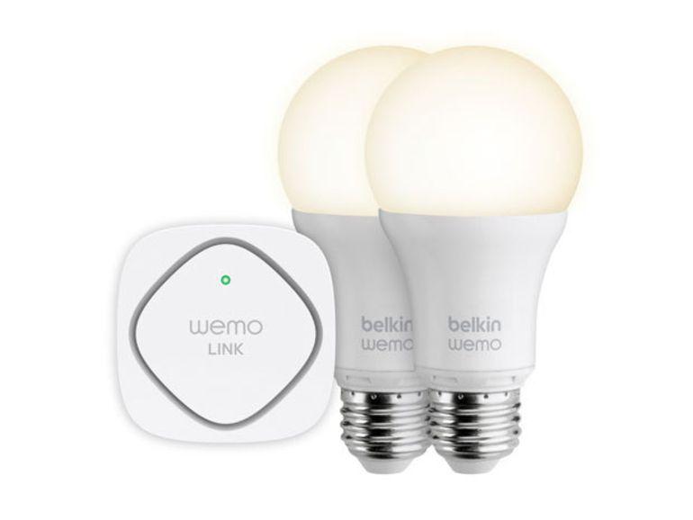 CES 2014 : Belkin lance ses ampoules connectées WeMo Smart LED