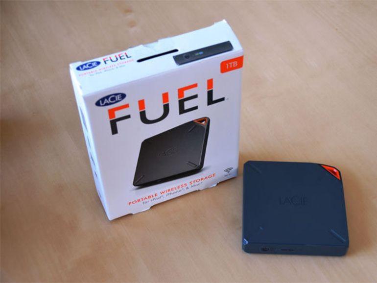 CES 2014 : LaCie Fuel, un disque dur de 1 To pour iOS