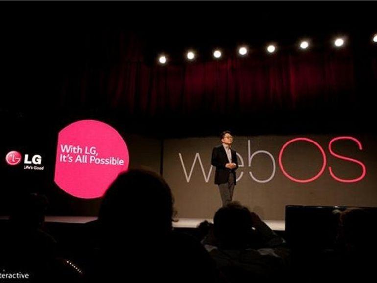 CES 2014 : LG intègrera WebOS à ses futures Smart TV