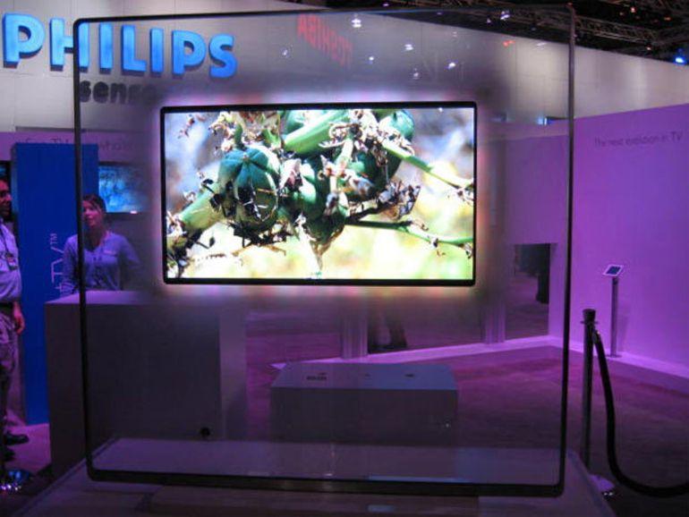 CES 2014 : Philips revient sur le marché avec des smart TV Android