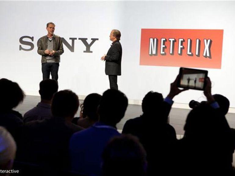 CES 2014 : Sony s'associe à Netflix pour la diffusion Ultra HD
