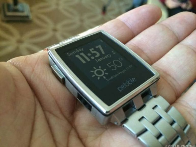 CES 2014 : Pebble soigne le design de sa nouvelle smartwatch