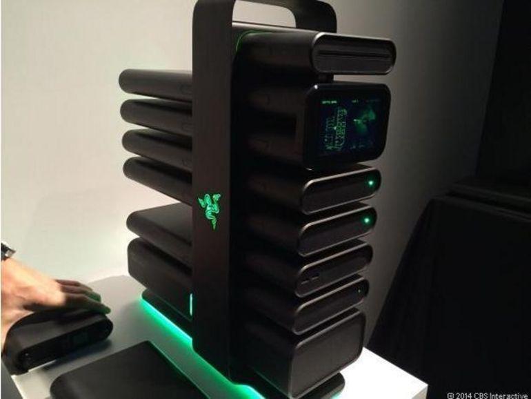 CES 2014 : le Project Christine de Razer est un PC ultra-modulaire
