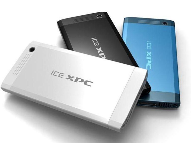 L'ICE xPC, à la fois PC portable, de bureau, tablette, console et smart TV