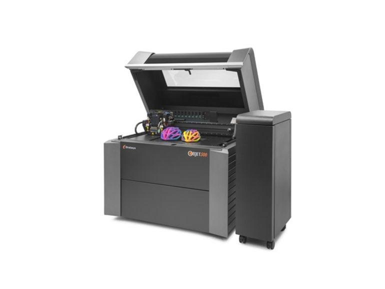 Stratasys lance la première imprimante 3D multi-matériau en couleur