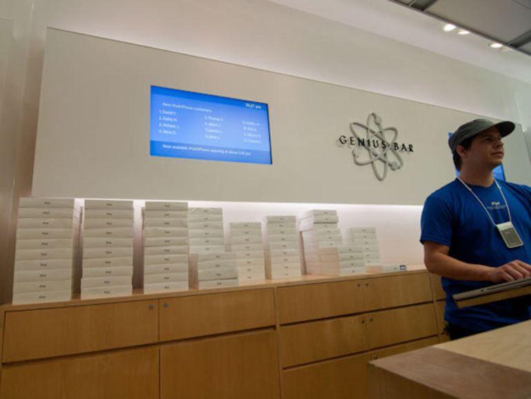 Apple : ventes record d'iPhone et d'iPad au dernier trimestre 2013
