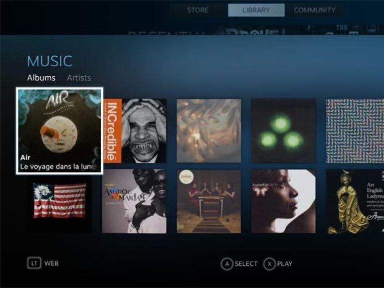Steam Music bientôt disponible en bêta pour Steam OS