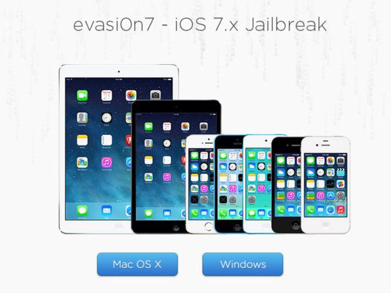Le jailbreak des iPhone et iPad à jour pour iOS 7.0.5