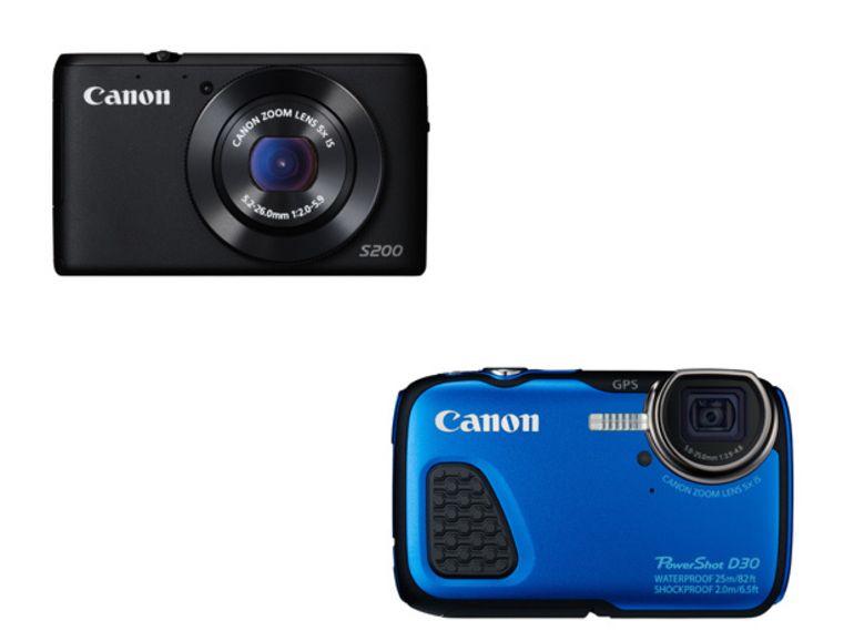 PowerShot D30 et S200 : un nouveau tout-terrain et expert pour Canon