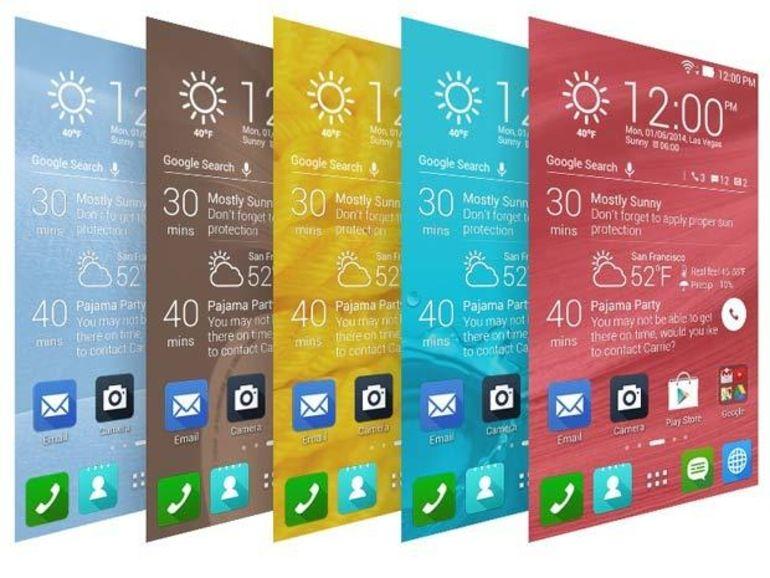 MWC 2014 - Asus ZenUI : l'interface qui cache l'Android des Zenfone et Padfone