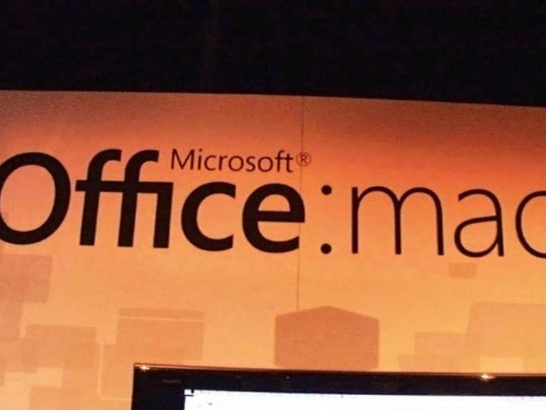 Microsoft Office de retour sur les Mac cette année