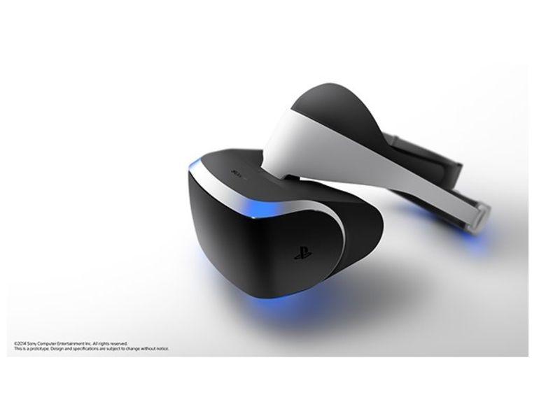 Morpheus, le casque à réalité virtuelle pour la PlayStation 4