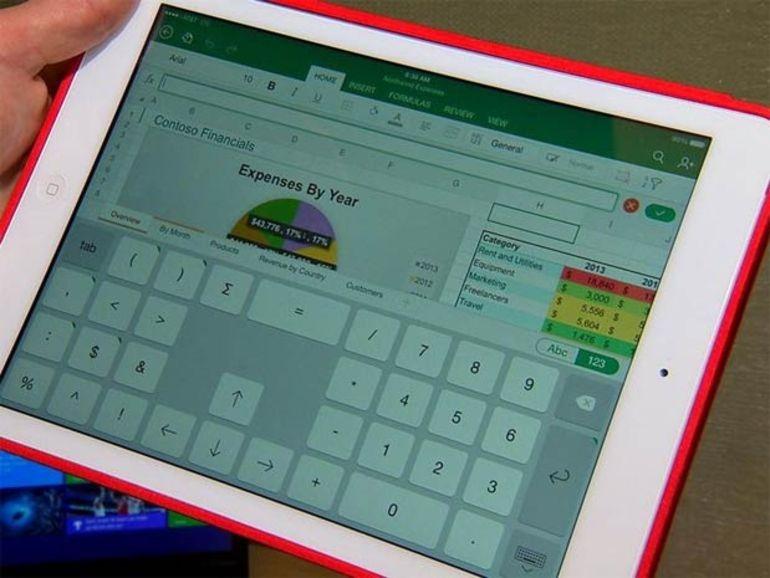 Office arrive sur iPad gratuitement... ou presque