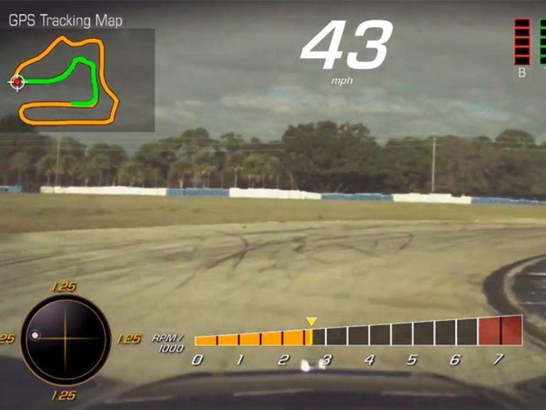 La Chevrolet Corvette opte pour un enregistreur vidéo de course