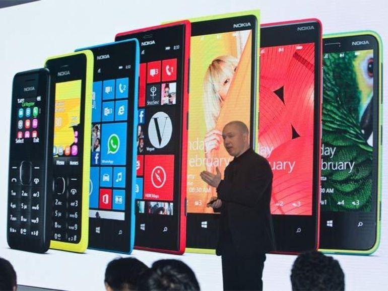 Microsoft devient le 2e fabricant mondial de mobiles derrière Samsung