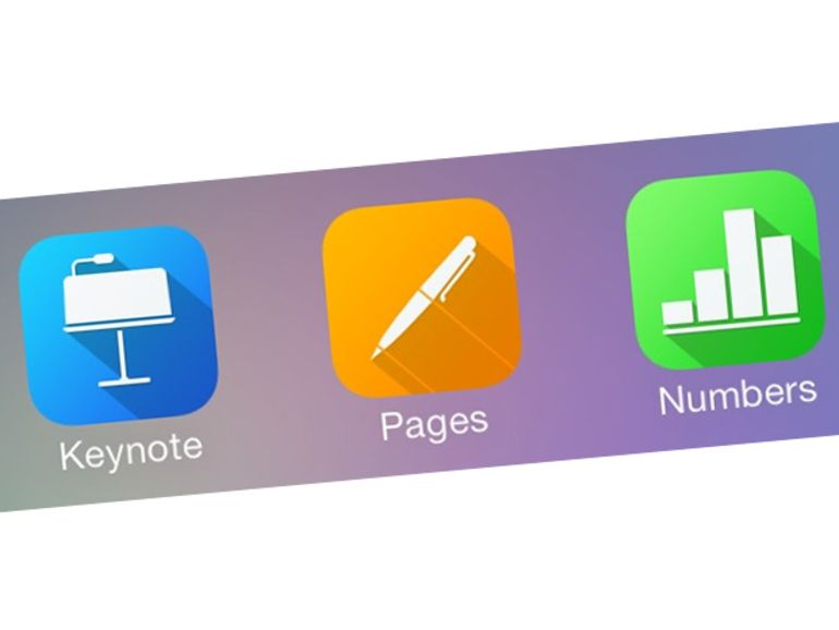iWork : mise à jour pour la suite bureautique d'Apple