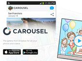 Carousel : Dropbox lance une nouvelle fonction de partage des photos