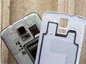 La coque amovible en plastique du Samsung Galaxy S5 : son arme secrète