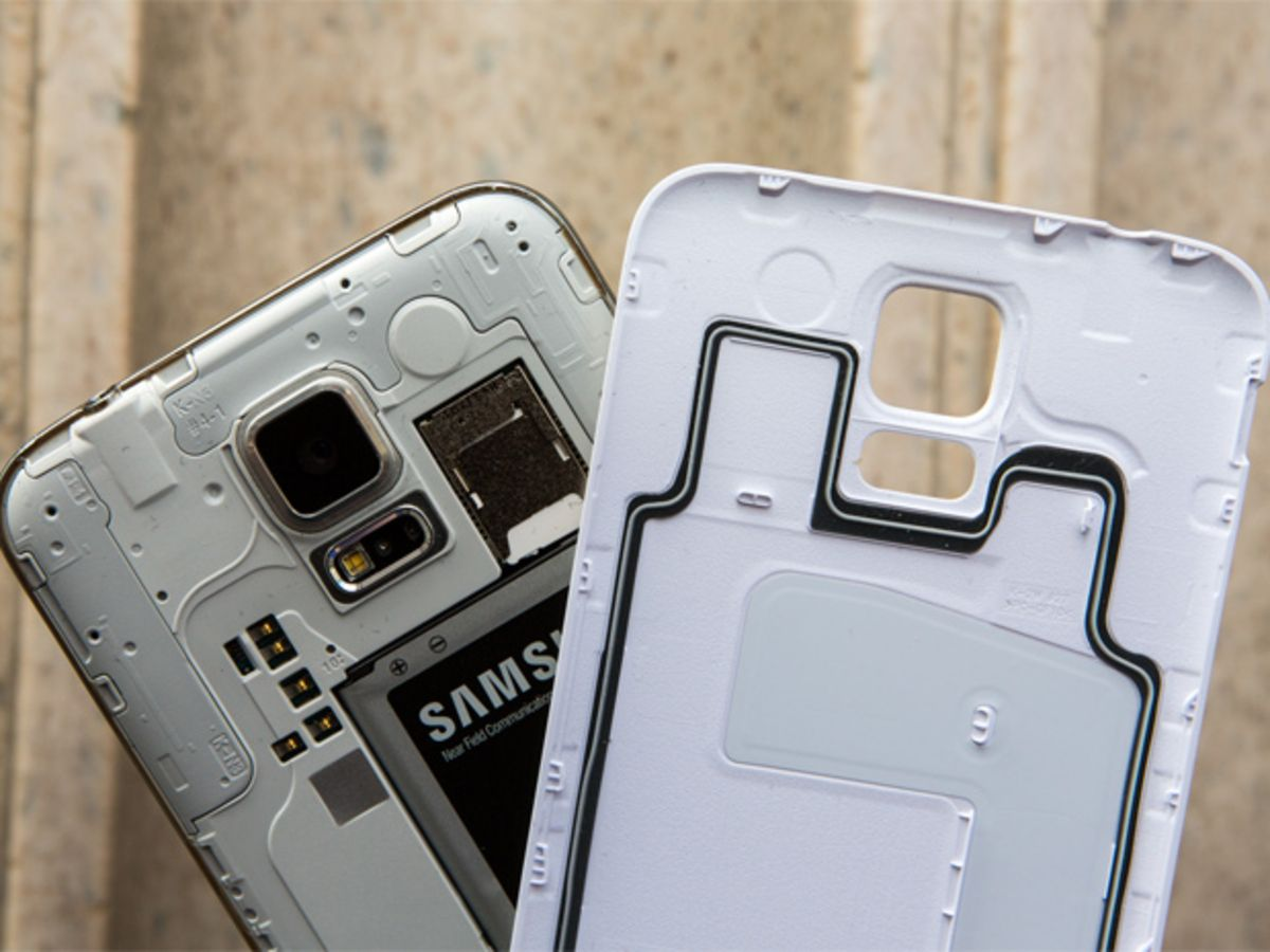 La coque amovible en plastique du Samsung Galaxy S5 : son arme ...