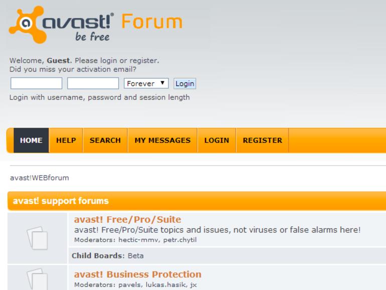 Avast : piratage des forums de l'antivirus