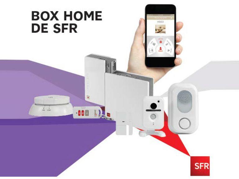 SFR Box Home : une nouvelle offre domotique plus qu'une nouvelle box