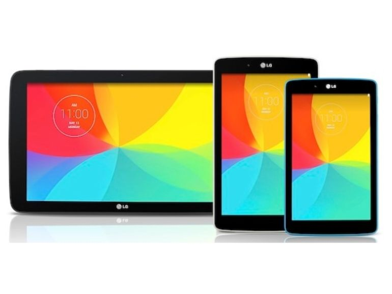 LG annonce ses tablettes G Pad 7, 8 et 10,1 pouces