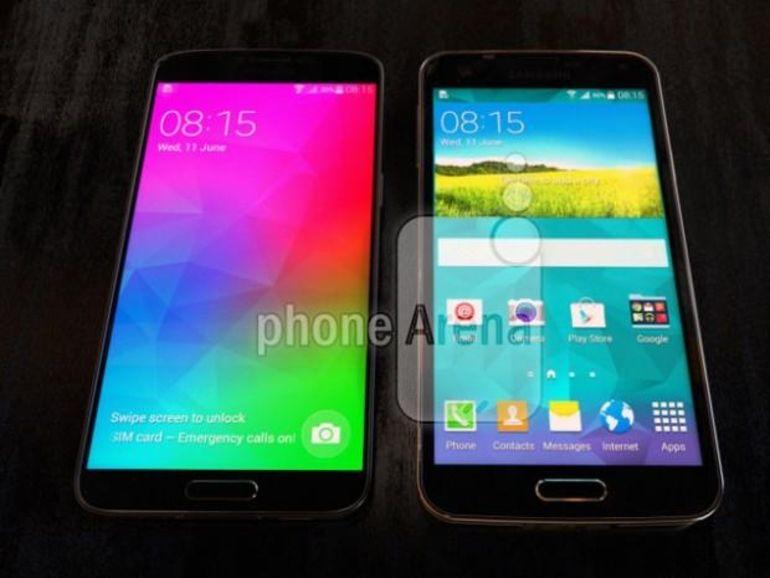 Galaxy F, la réponse de Samsung à l'iPhone 6