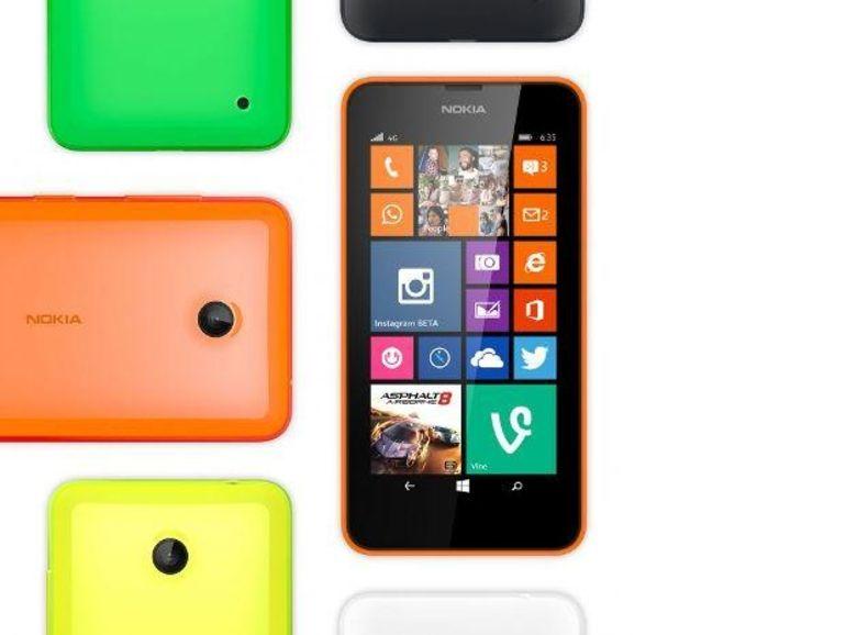 Nokia Lumia 635, de l'entrée de gamme 4G à 169 euros