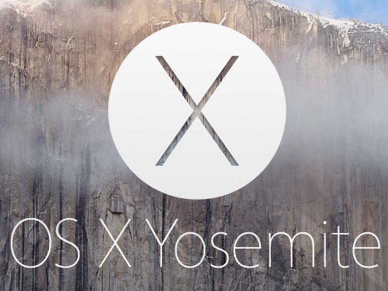 Mac OS X 10.10 Yosemite : un nouveau nom, un nouveau look et de nouvelles fonctions