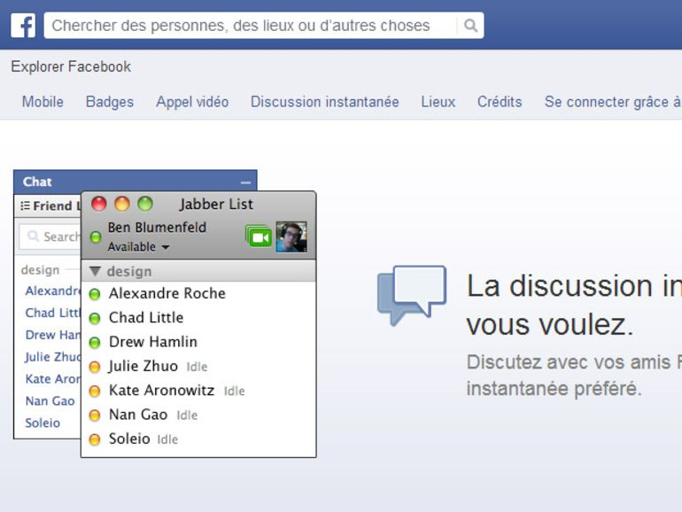 Un malware cible les comptes Facebook via le chat