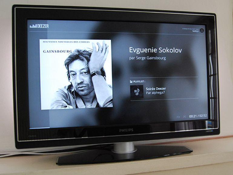 Deezer : la musique sur TV avec Chromecast et en haute qualité sur mobile