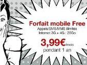 C'est les soldes chez Free Mobile, le forfait illimité passe à 3.99 euros durant 1 an