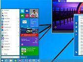 Windows 10 : un menu Démarrer va bien remplacer l'écran d'accueil moderne