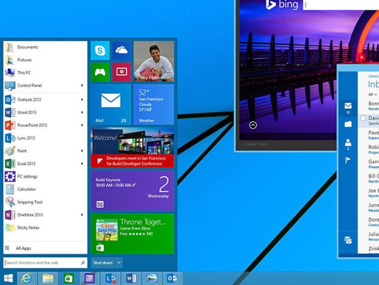 Windows 9 gratuit ou presque pour les utilisateurs de Windows 8.1 update 2 ?