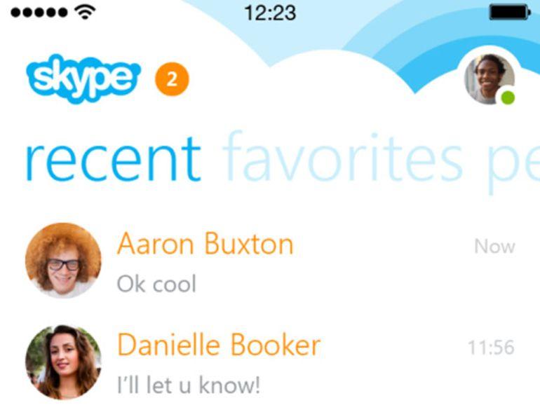 Skype 5 pour iPhone : bientôt le plein de nouvelles fonctions