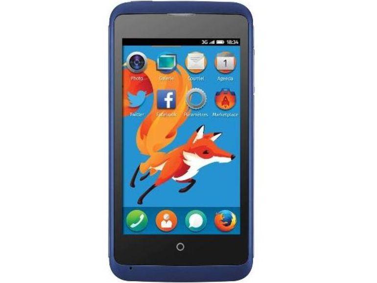 Le smartphone Firefox OS à 70 euros arrive chez Leclerc