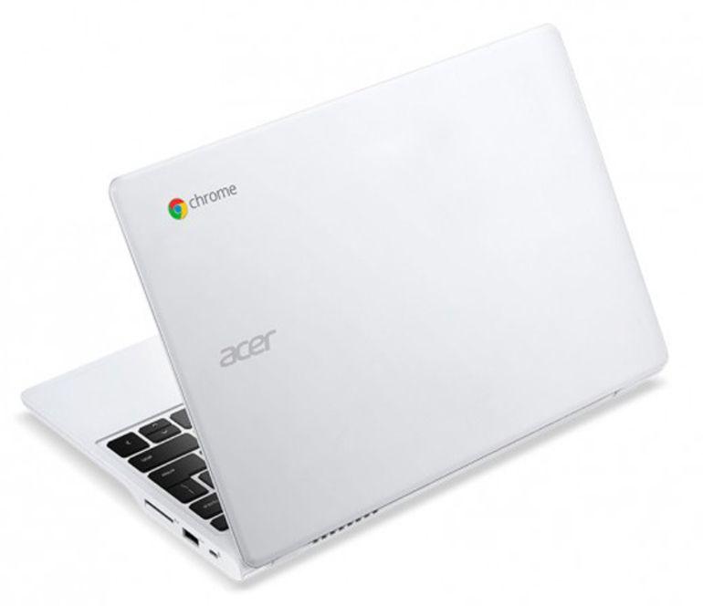 Le Chromebook Acer 720p passe au processeur Core i3 d'Intel