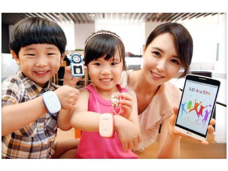 Kizon : un bracelet connecté signé LG pour suivre ses enfants