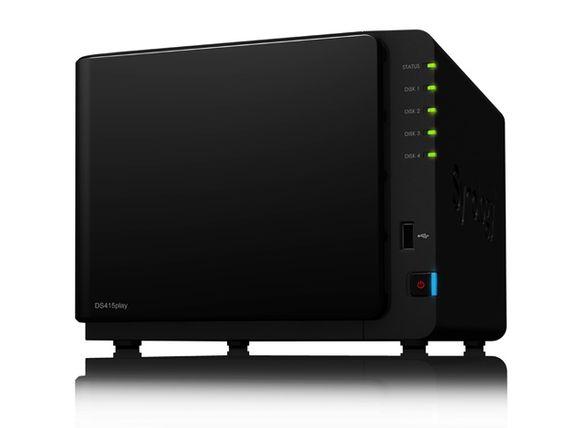 Synology DiskStation DS415play, un spécialiste de la vidéo