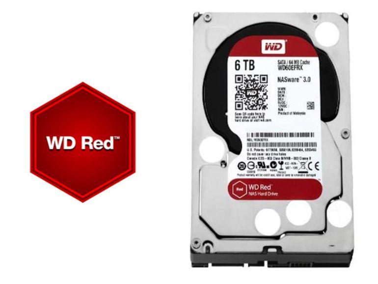 Disque dur : la gamme Red de Western Digital passe à 5 et 6 To