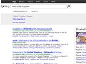 Microsoft Bing : dialogue avec un robot