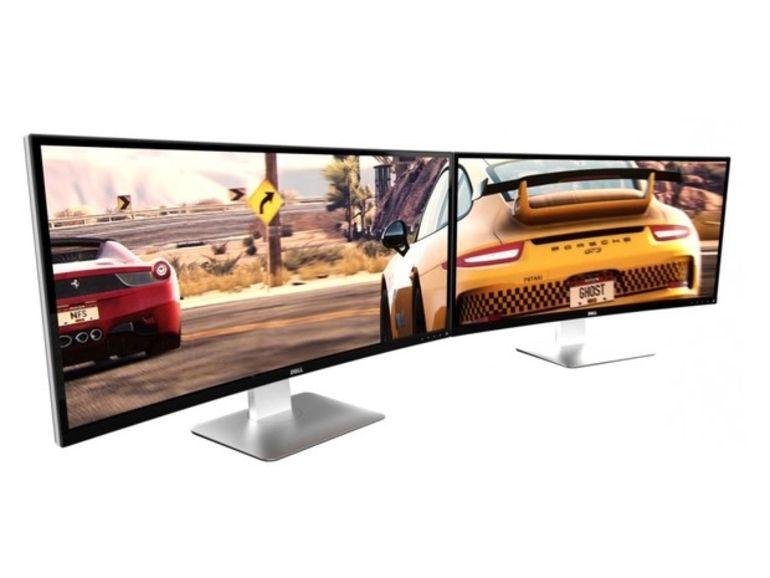 Dell UltraSharp 34 pouces : un écran incurvé dédié aux joueurs