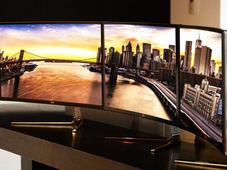 IFA 2014 - Un écran PC incurvés pour LG