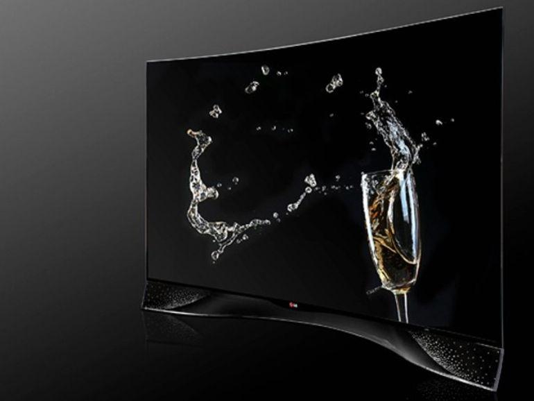IFA 2014 - LG annonce un écran OLED incurvé habillé par le bijoutier Swarovski