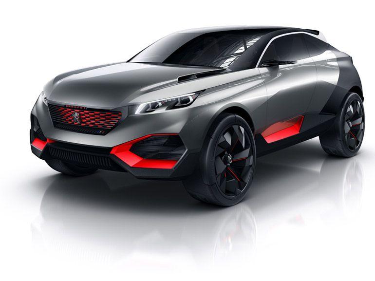 Peugeot Quartz, technologie à l'état brut