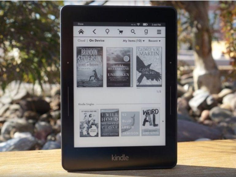 Kindle Voyage : la nouvelle liseuse d'Amazon