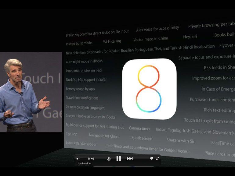 Installer iOS 8 sur un iPhone 4S, pourquoi pas mais attention !