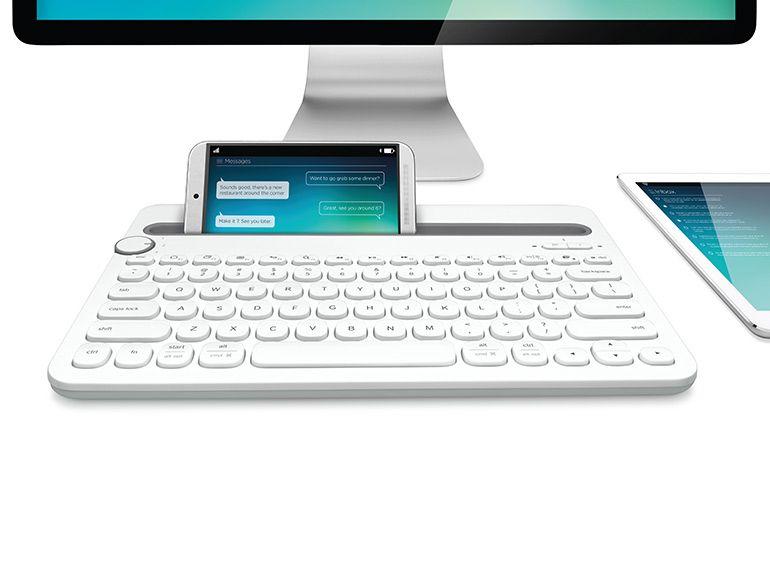 IFA 2014 - Un clavier logitech utilisable sur ordinateur, smartphone et tablette